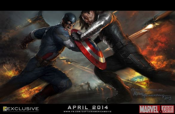 Captain America: The Winter Soldier CCI Poster; Image Courtesy of comicbookresources.com