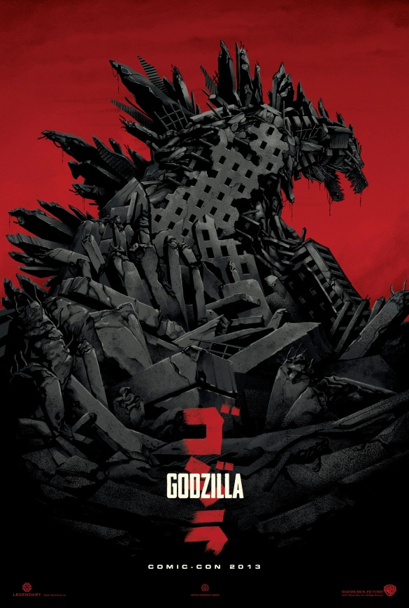 Godzilla CCI Poster; Image courtesy of liveforfilms.com