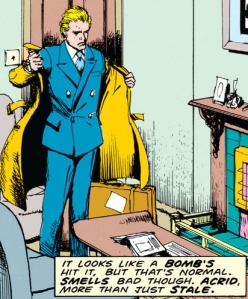 From Hellblazer #1, Art by John Ridgway and Lovern Kindzierski
