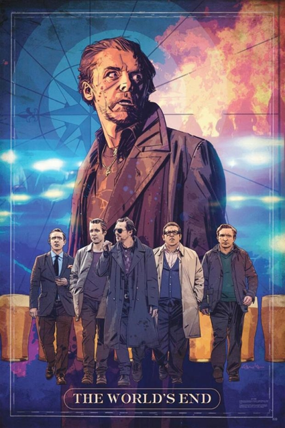 The World's End CCI Poster; Image courtesy of denofgeek.com