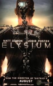 Poster of Elysium, Courtesy of TriStar