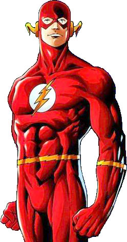 Barry Allen, the Flash Image Courtesy of Wikipedia
