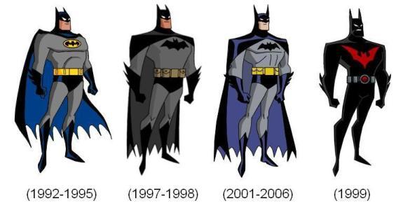 DCAU_batsuits